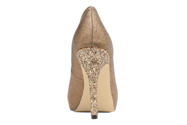 High heels Menbur Bailen Brown view from the right