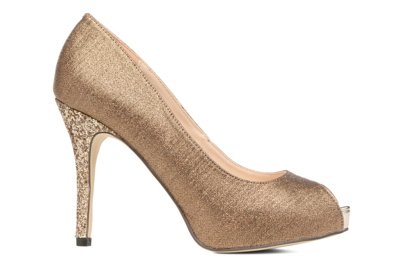 High heels Menbur Bailen Brown back view