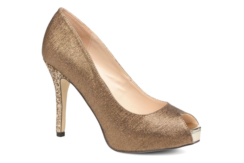 Høje hæle Menbur Bailen Brun detaljeret billede af skoene