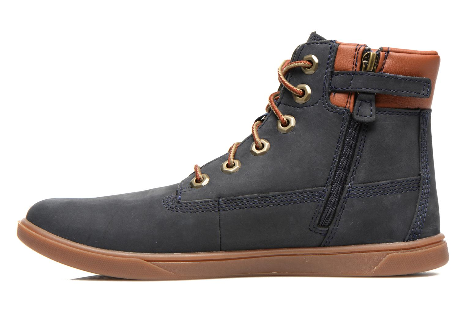 Sneakers Timberland Groveton 6In Lace with si Azzurro immagine frontale