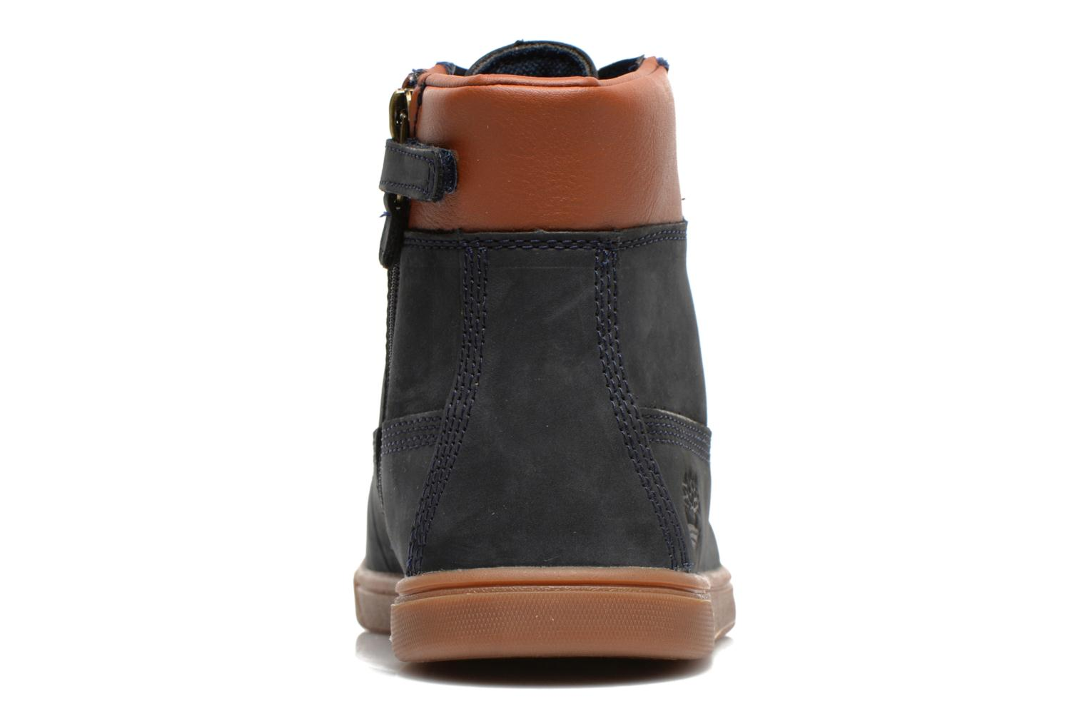 Baskets Timberland Groveton 6In Lace with si Bleu vue droite
