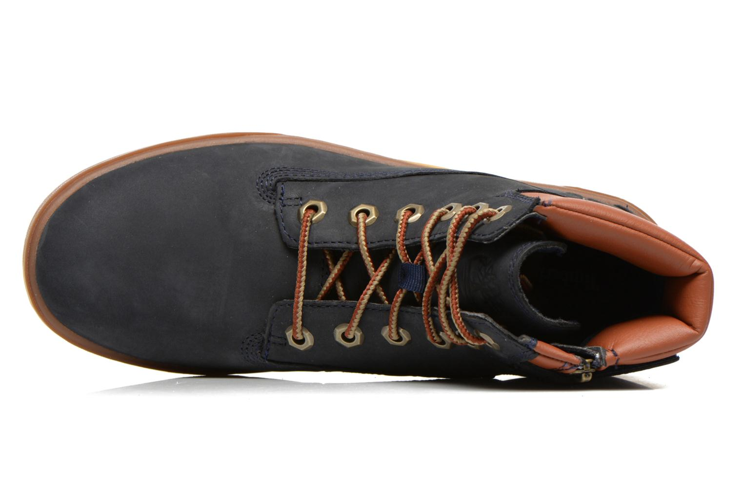 Baskets Timberland Groveton 6In Lace with si Bleu vue gauche
