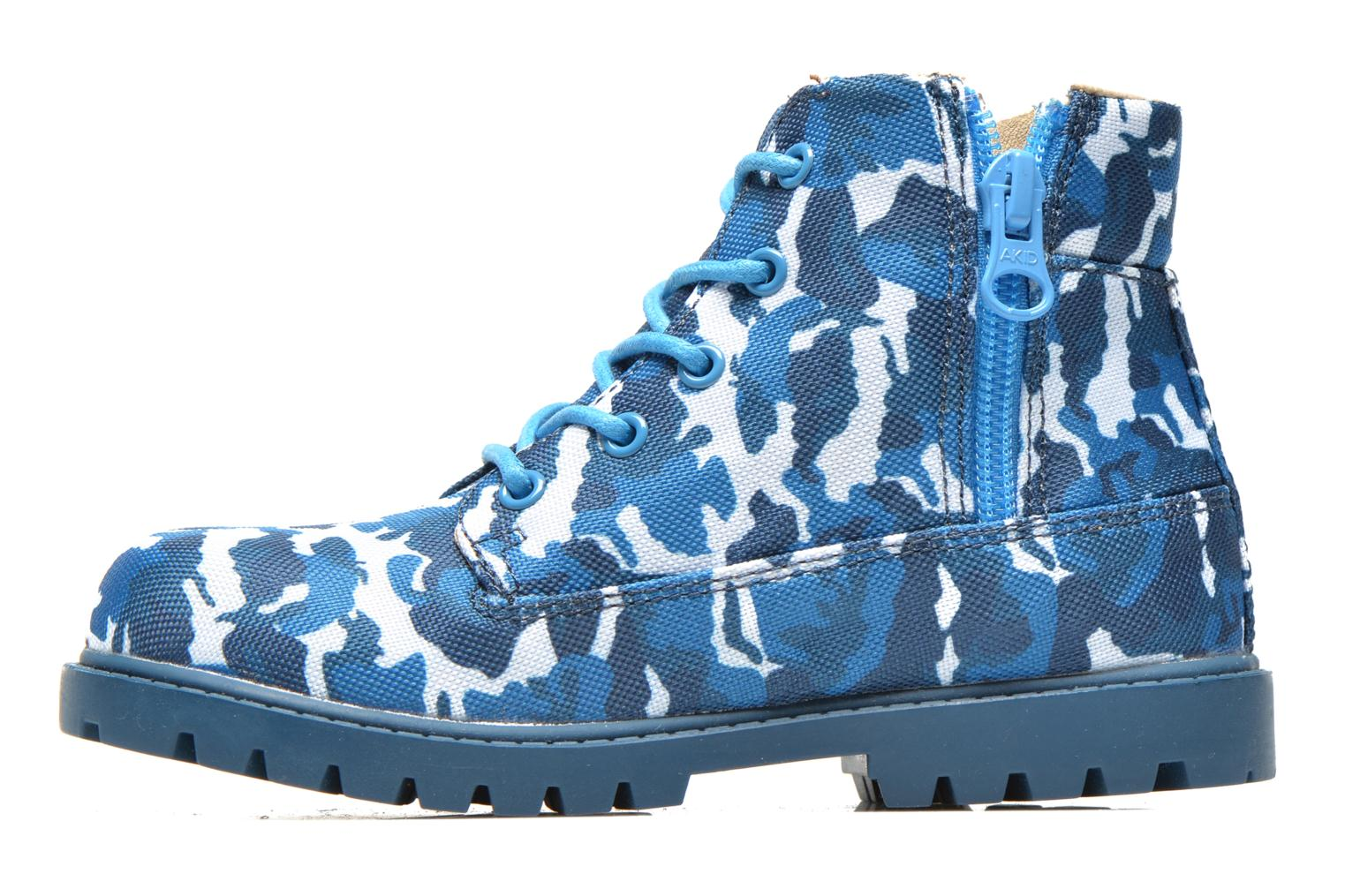 Ankle boots Akid Atticus Blue front view