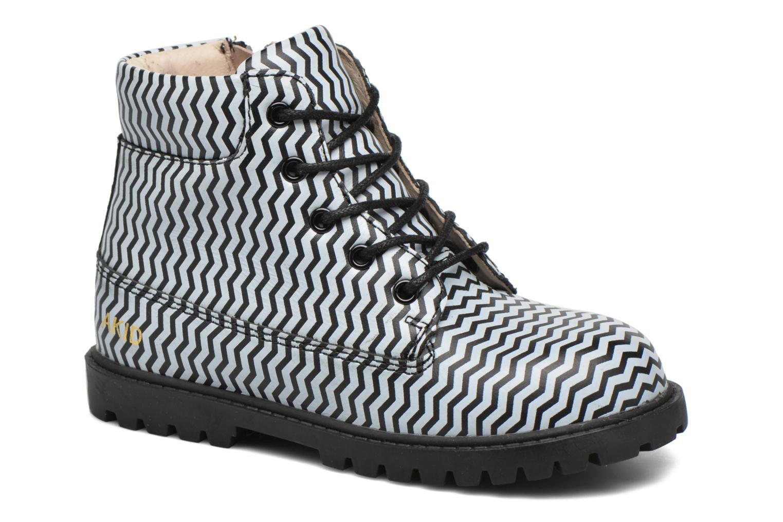Boots en enkellaarsjes Akid Atticus Zwart detail