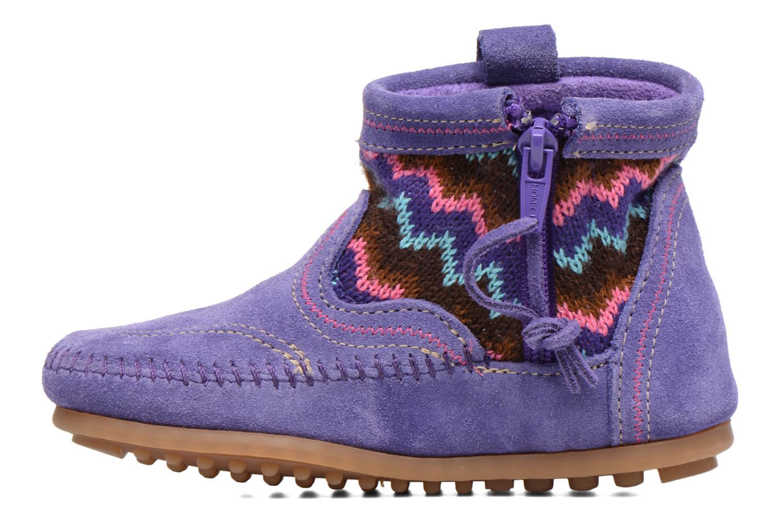 Bottines et boots Minnetonka Aspen Boot Violet vue face