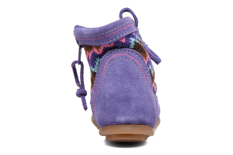 Botines  Minnetonka Aspen Boot Violeta      vista lateral derecha