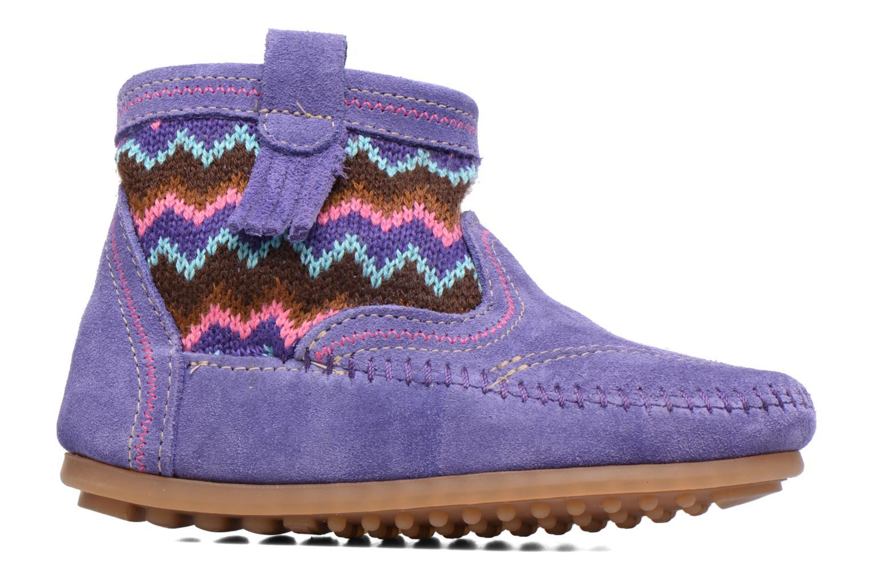 Bottines et boots Minnetonka Aspen Boot Violet vue derrière