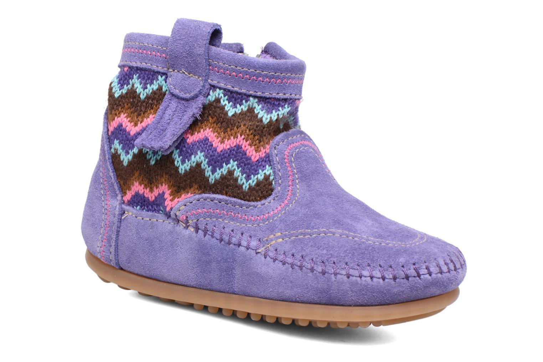 Bottines et boots Minnetonka Aspen Boot Violet vue détail/paire