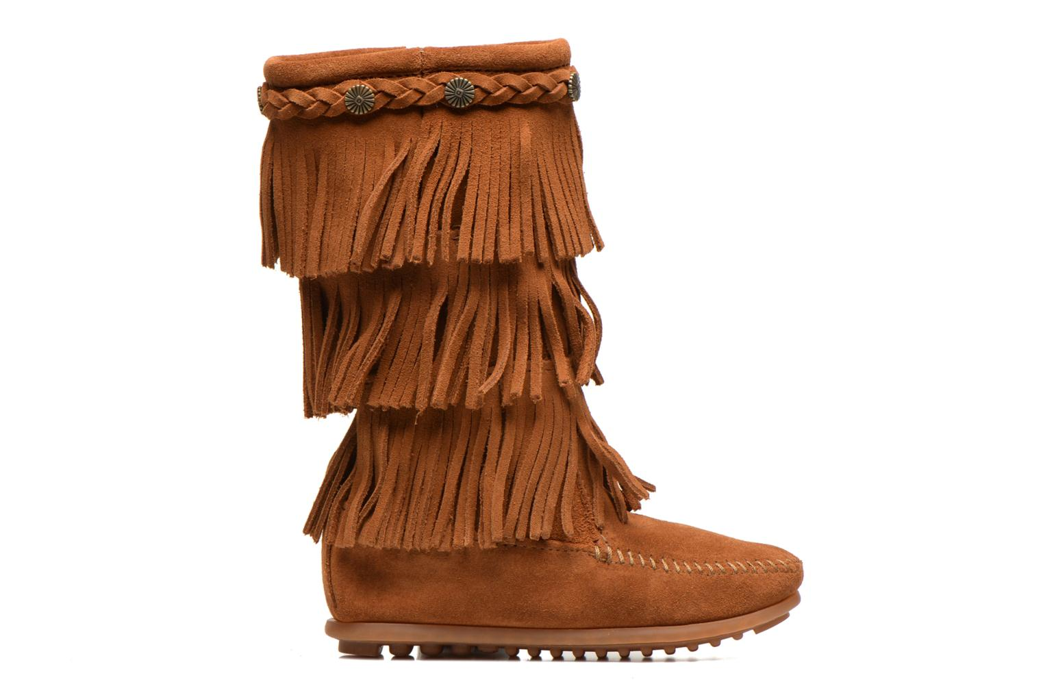 Boots & wellies Minnetonka 3-Layer Brown back view