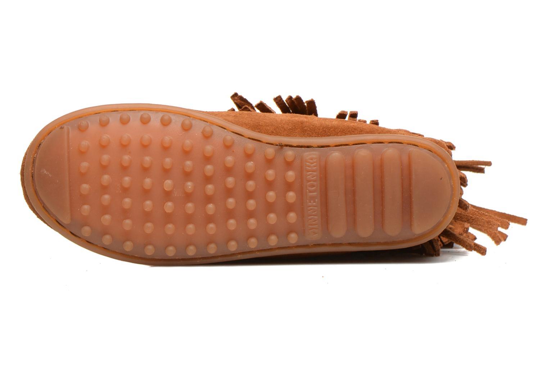 Stiefel Minnetonka 3-Layer braun ansicht von oben
