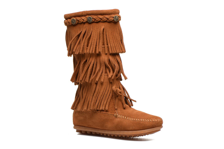 Støvler & gummistøvler Minnetonka 3-Layer Brun detaljeret billede af skoene