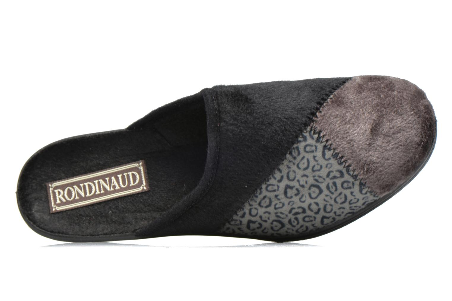 Slippers Rondinaud Nans Grey view from the left