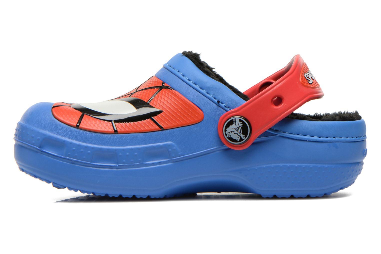 Sandales et nu-pieds Crocs CC Spiderman Lined Clog Bleu vue face