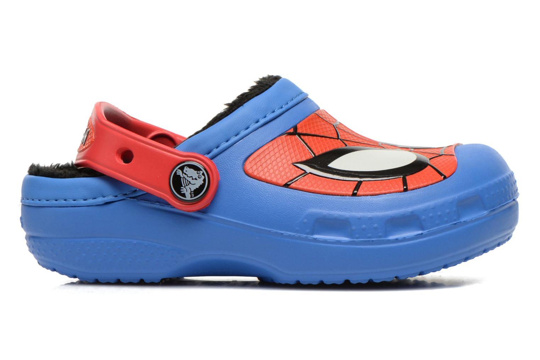 Sandales et nu-pieds Crocs CC Spiderman Lined Clog Bleu vue derrière