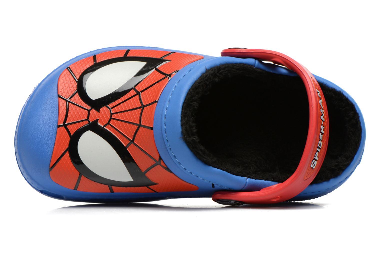 Sandaler Crocs CC Spiderman Lined Clog Blå se fra venstre