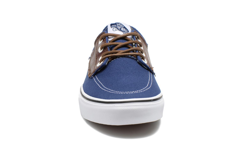 Sneaker Vans Brigata blau schuhe getragen