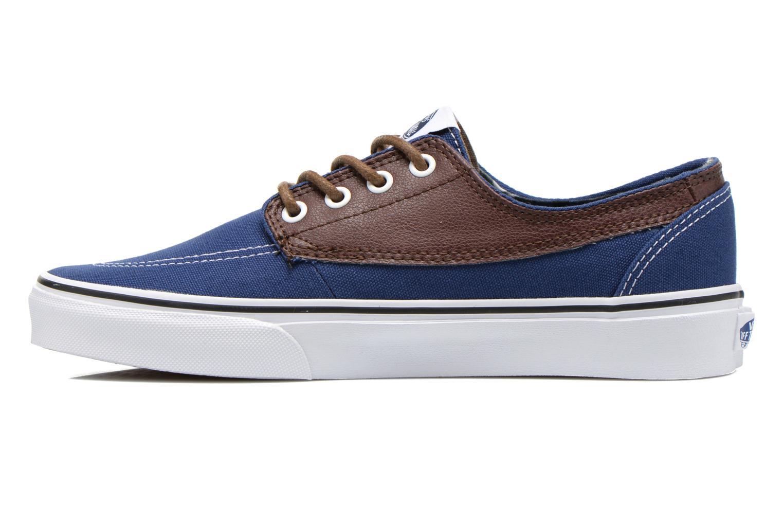Sneaker Vans Brigata blau ansicht von vorne