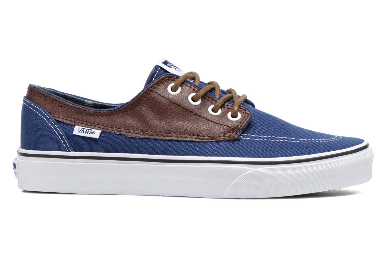 Sneaker Vans Brigata blau ansicht von hinten