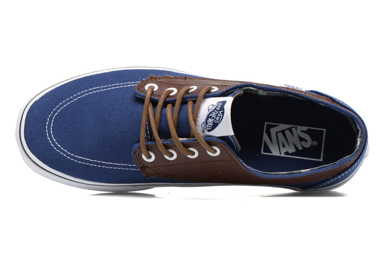Sneaker Vans Brigata blau ansicht von links