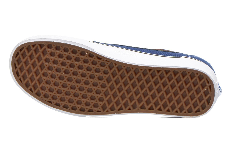 Sneaker Vans Brigata blau ansicht von oben