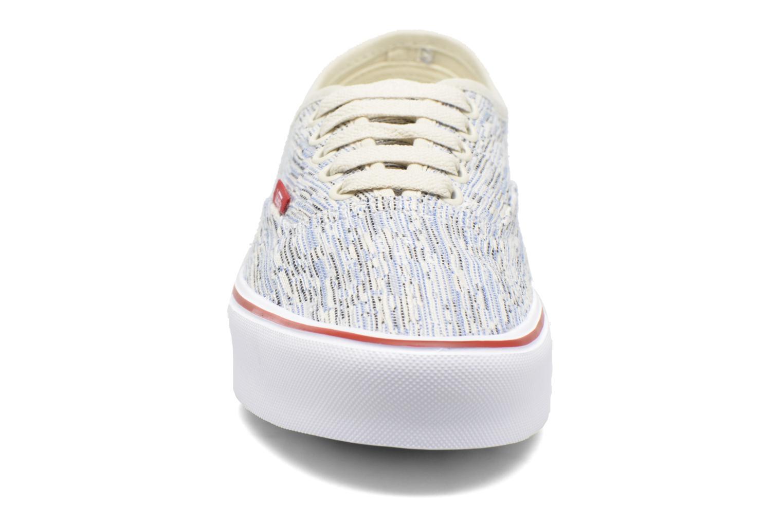 Baskets Vans Authentic Lite Multicolore vue portées chaussures