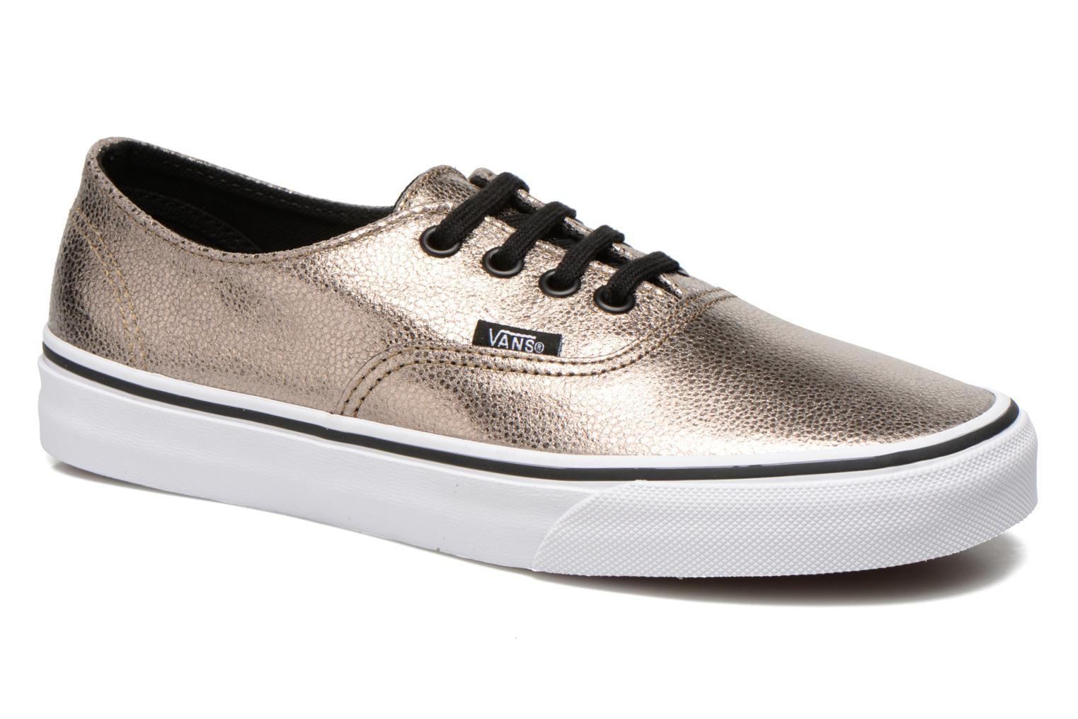 Newest Vans Authentic W Bronze and Gold Womens Trainers Outlet UK1738
