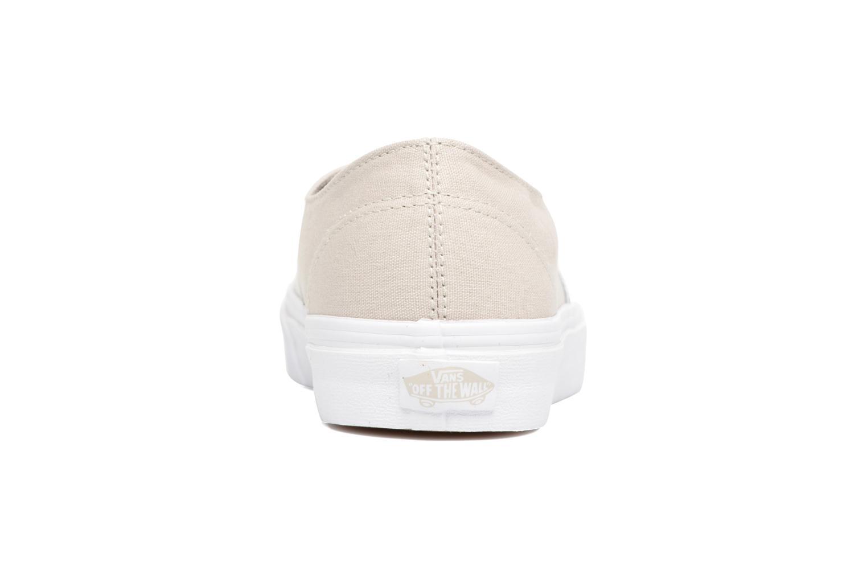 Sneakers Vans Authentic Decon W Zilver rechts