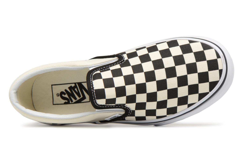 Sneaker Vans Classic Slip-On Platform schwarz ansicht von links