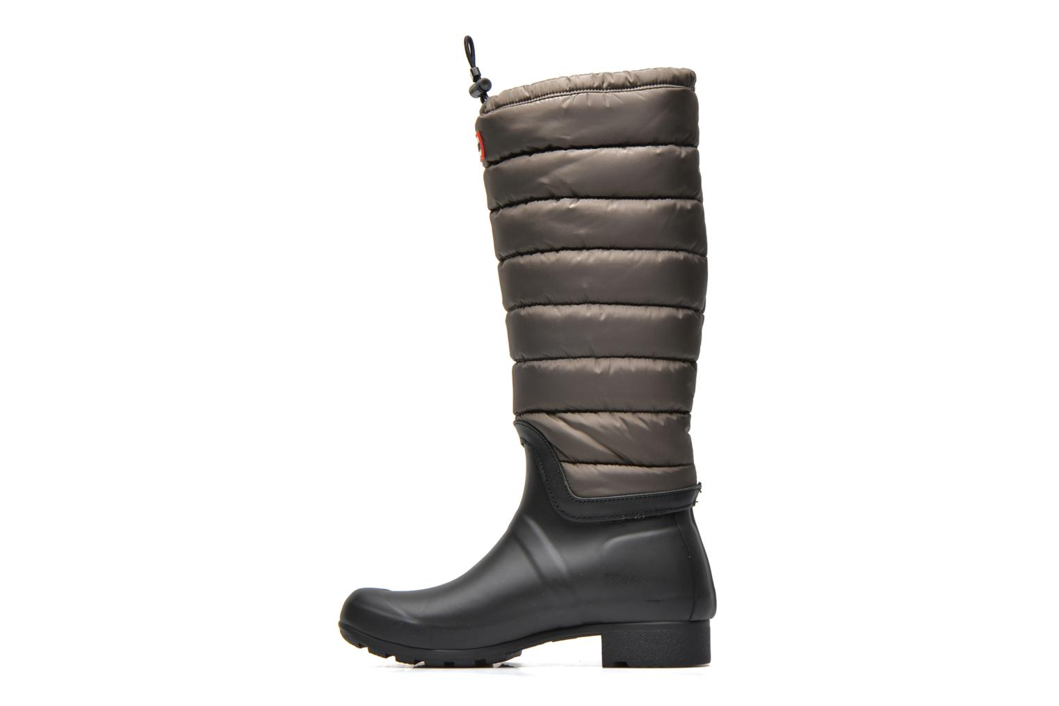 Boots & wellies Hunter Original quilted Leg Green front view