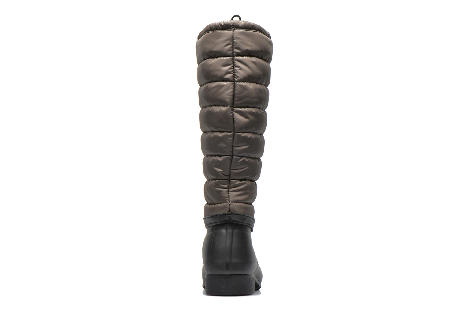 Boots & wellies Hunter Original quilted Leg Green view from the right
