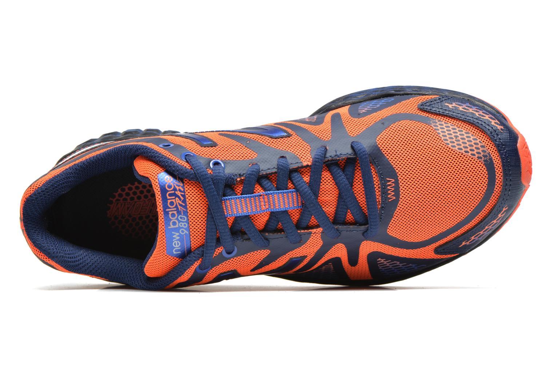Baskets New Balance MT980 Bleu vue gauche