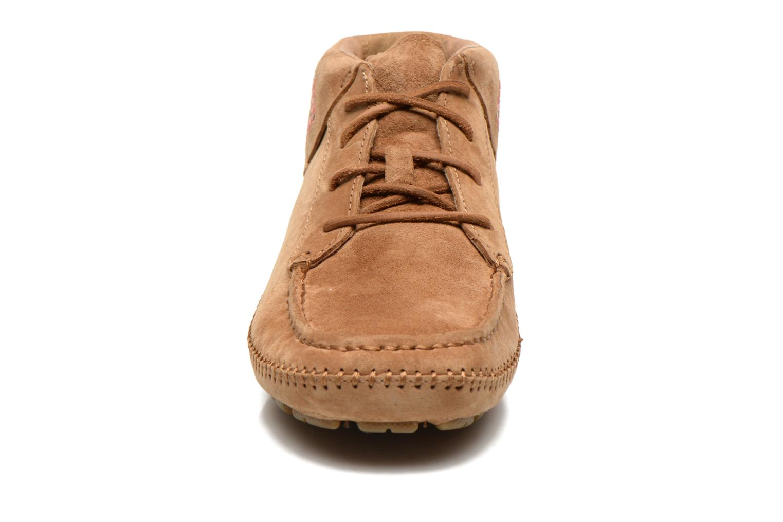 Chaussures à lacets UGG Chaunce Rustic Weave Marron vue portées chaussures