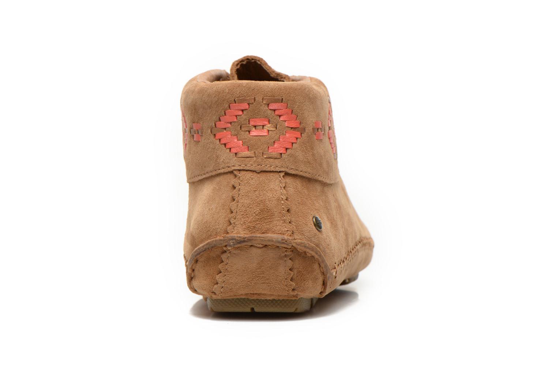 Chaussures à lacets UGG Chaunce Rustic Weave Marron vue droite