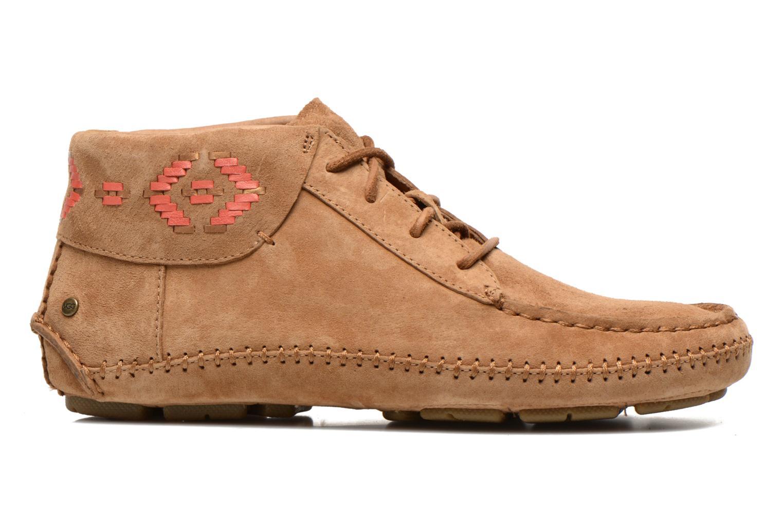 Chaussures à lacets UGG Chaunce Rustic Weave Marron vue derrière