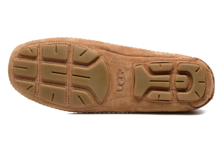 Chaussures à lacets UGG Chaunce Rustic Weave Marron vue haut