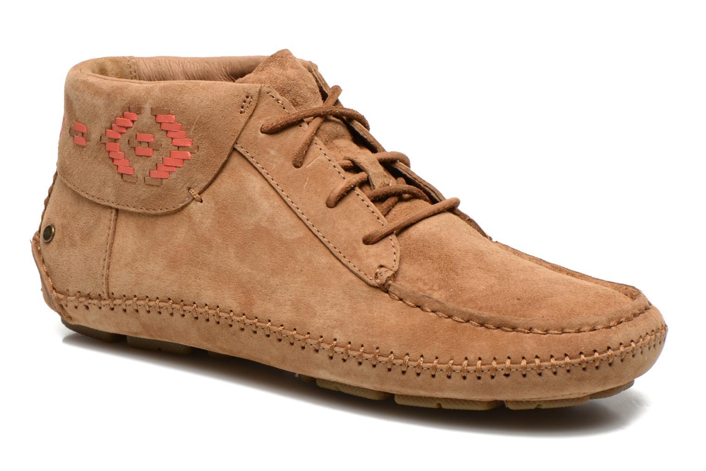 Chaussures à lacets UGG Chaunce Rustic Weave Marron vue détail/paire