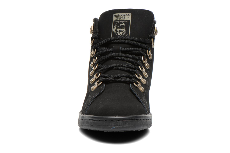 Baskets Adidas Originals Stan Smith Winter Noir vue portées chaussures