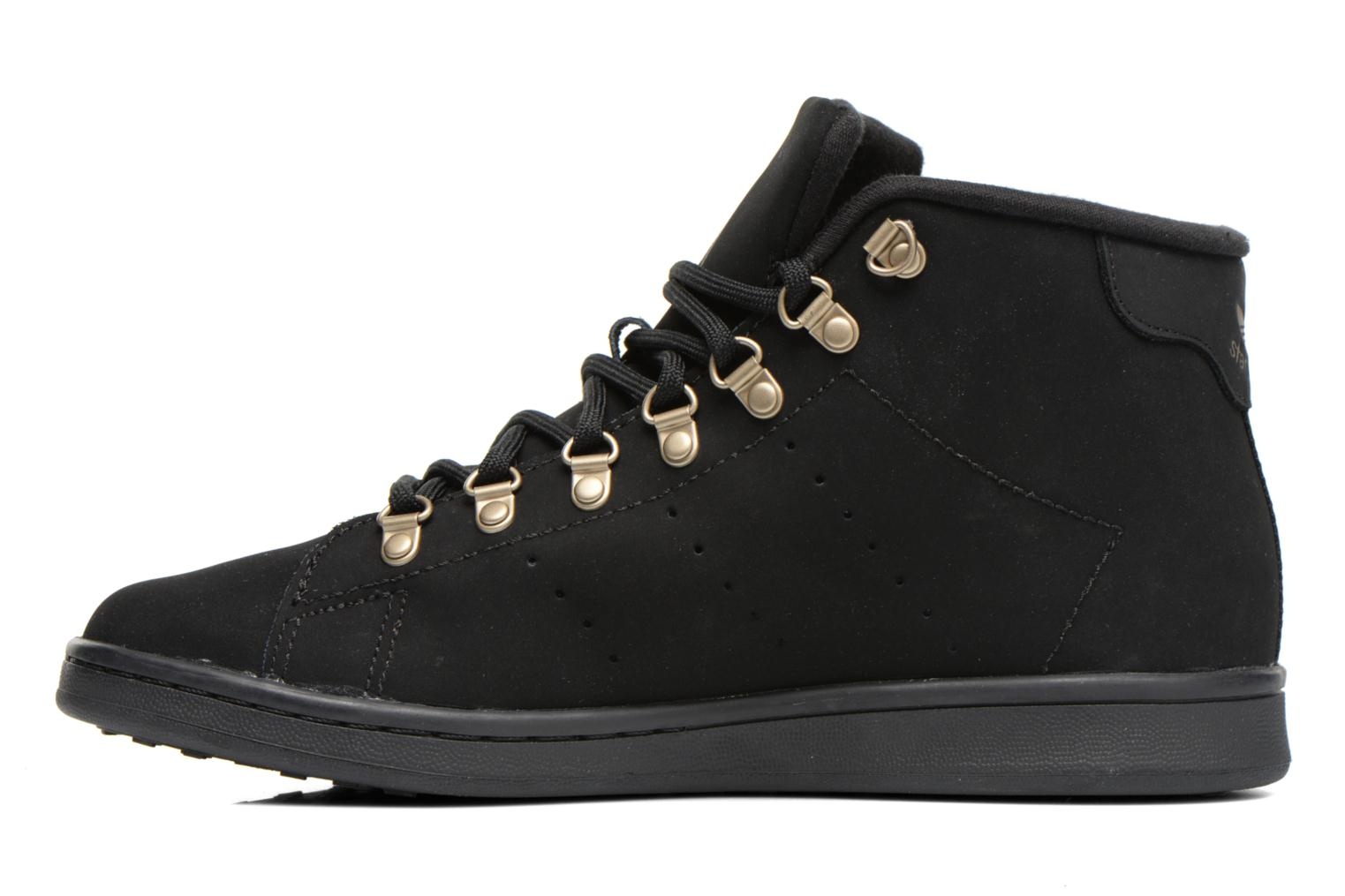 Baskets Adidas Originals Stan Smith Winter Noir vue face