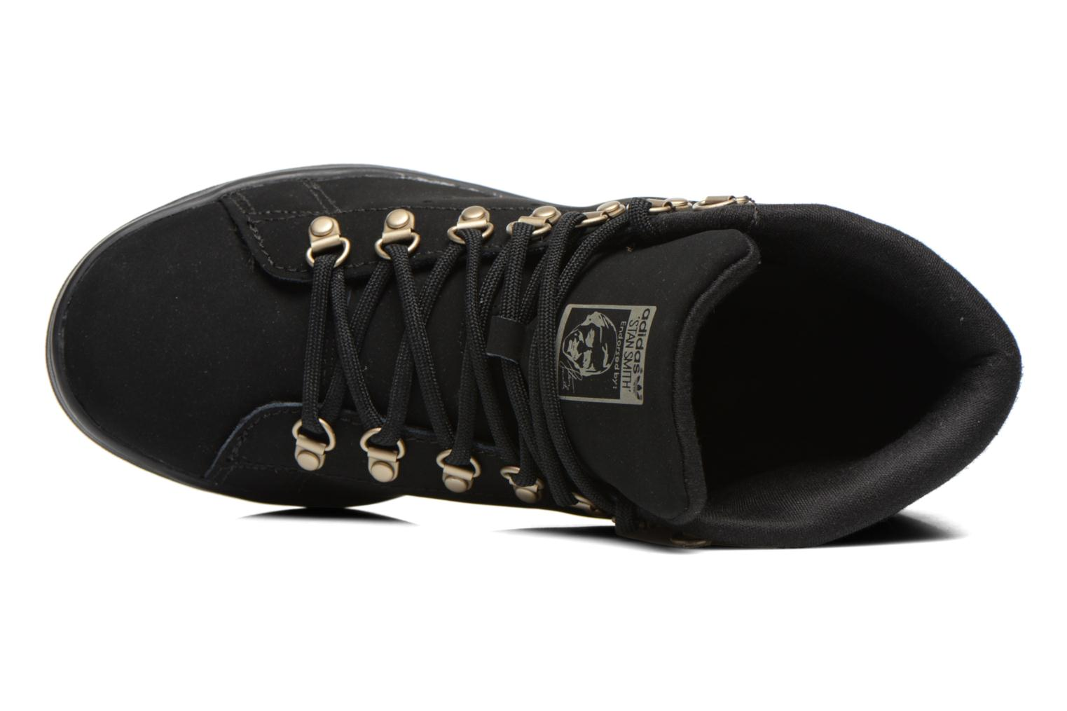 Baskets Adidas Originals Stan Smith Winter Noir vue gauche