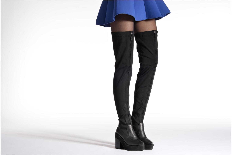Stiefel Intentionally blank Infinity schwarz ansicht von unten / tasche getragen