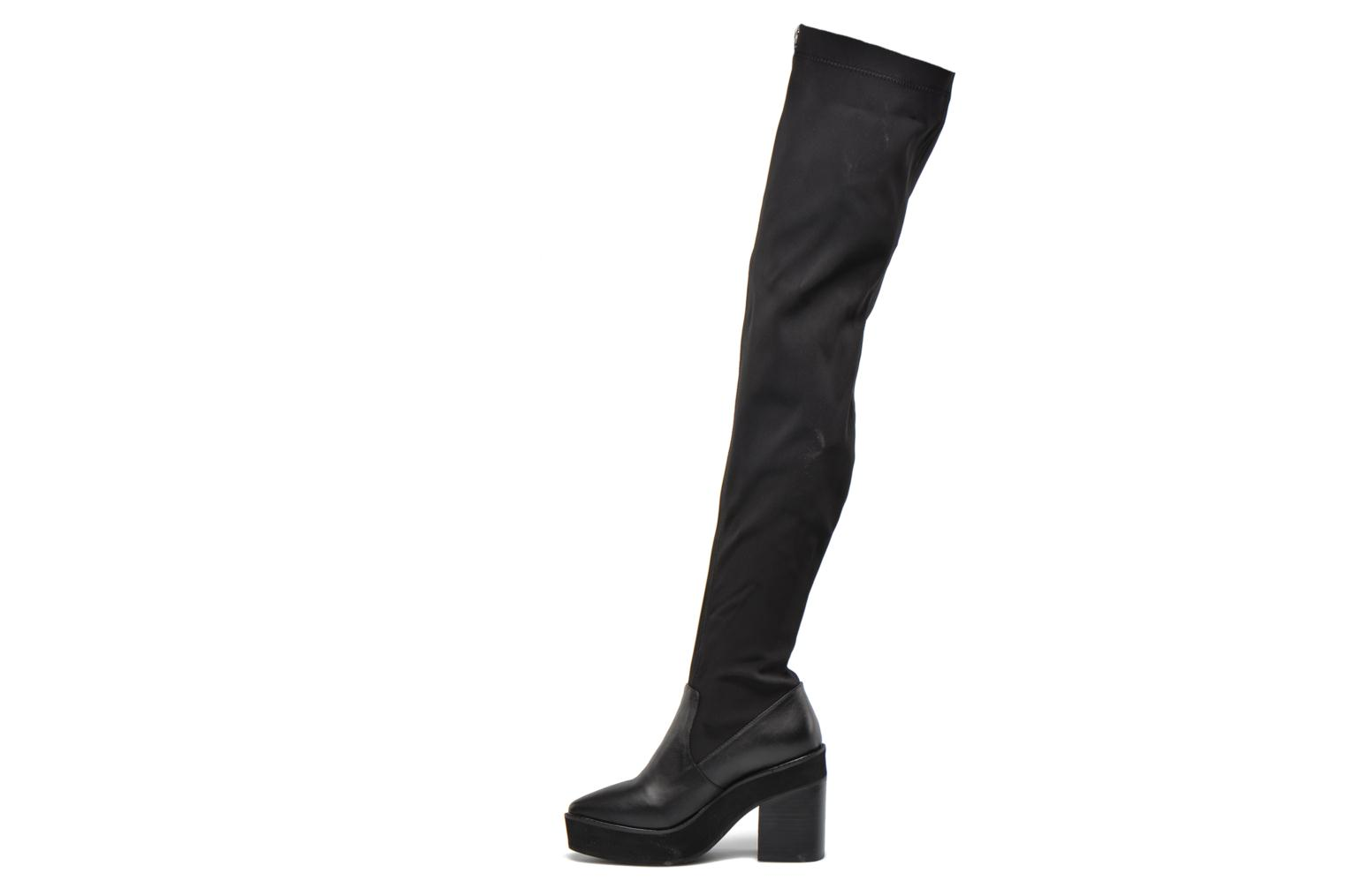 Boots & wellies Intentionally blank Infinity Black front view