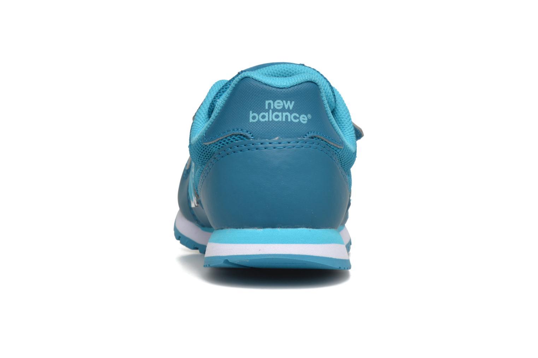 Baskets New Balance KV500 Bleu vue droite
