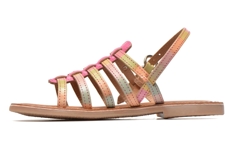 Sandales et nu-pieds Les Tropéziennes par M Belarbi Bikini E Multicolore vue face