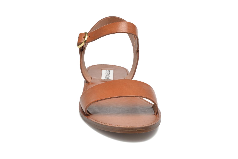 Sandals Steve Madden Donddi Brown model view