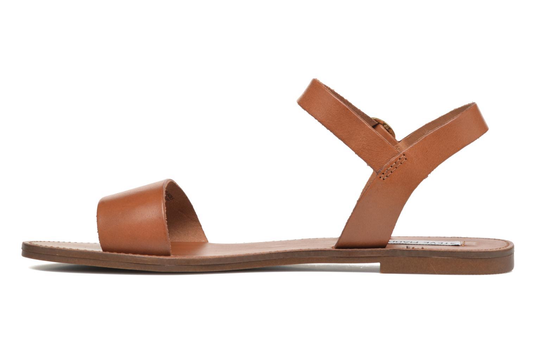 Sandales et nu-pieds Steve Madden Donddi Marron vue face