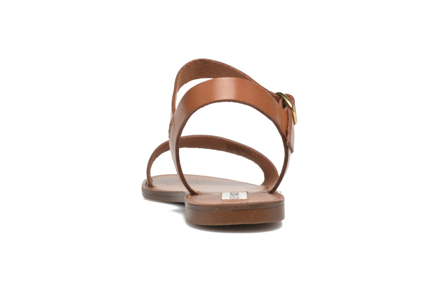 Sandals Steve Madden Donddi Brown view from the right