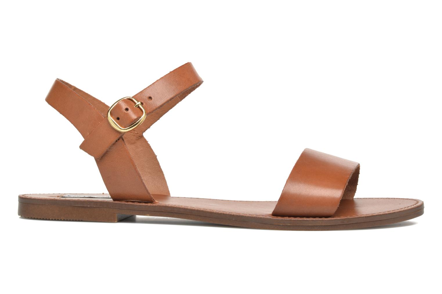 Sandals Steve Madden Donddi Brown back view