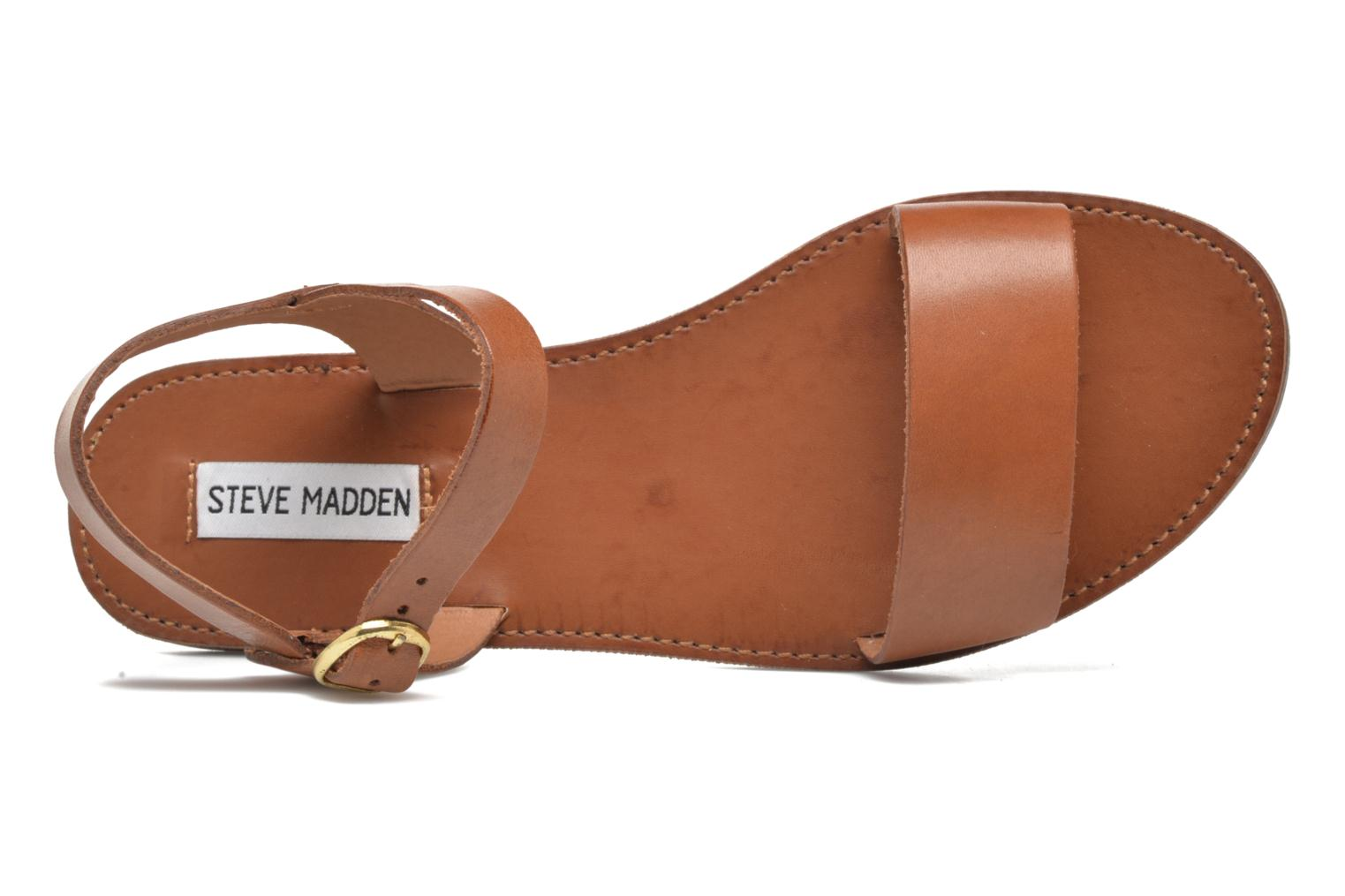Sandals Steve Madden Donddi Brown view from the left