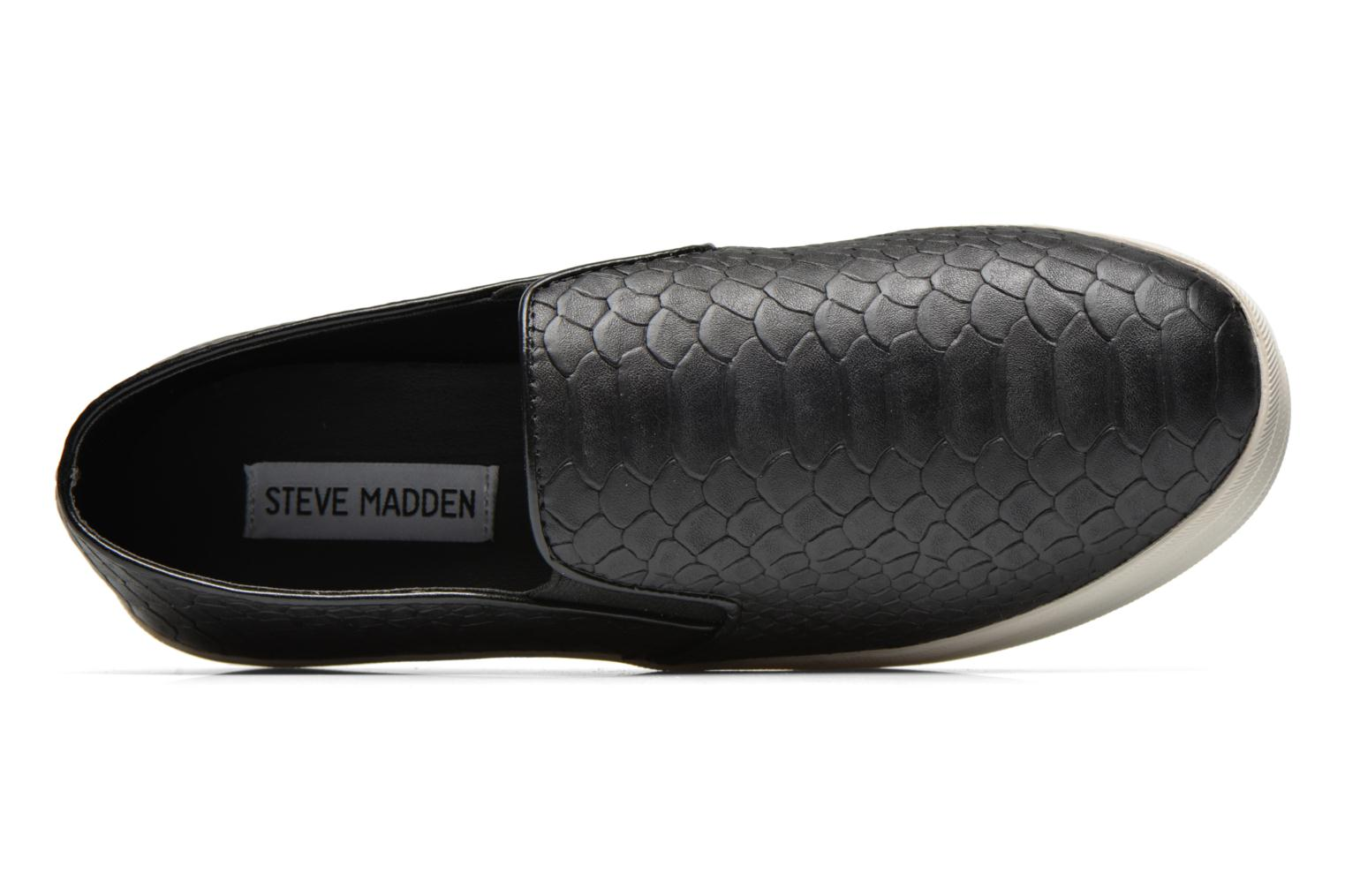 Trainers Steve Madden Buhba Black view from the left