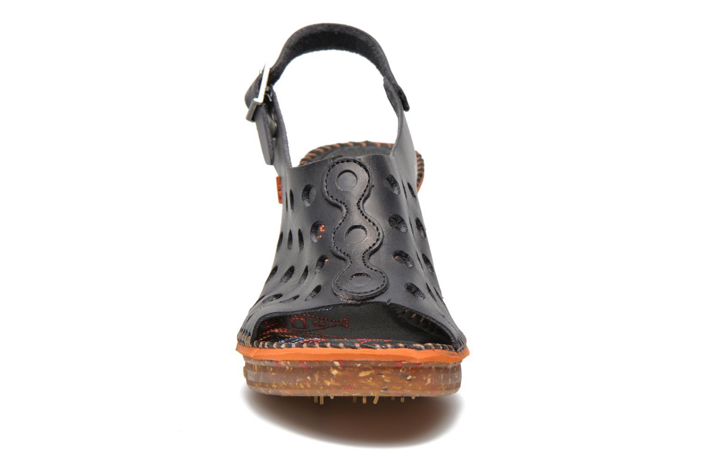 Sandali e scarpe aperte Art Amsterdam 335 Nero modello indossato
